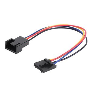 New 5Pin to 4Pin Fan Connector Adapter Converter Extension Cable Wire for Dell styles 5 pin Latch styles PC Laptop