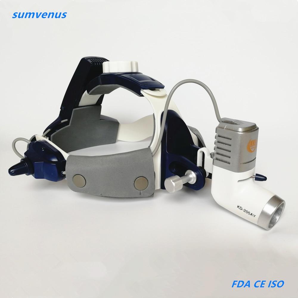 Dental ENT Surgical Medical Operation Examination LED 5W High Brightness Wireless loupe magnifier Headlight Headlamp adjustable