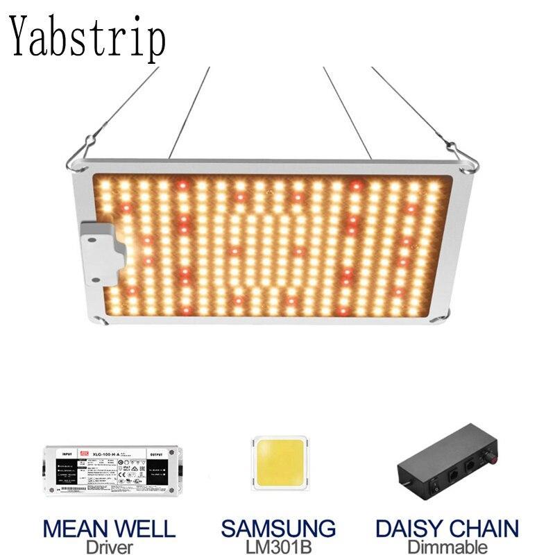 Приглушаемые светодиодные лампы полного спектра для выращивания растений, 1000 Вт, IP65, чип Samsung, квантовые настольные Лампы Meanwell для комнатных...
