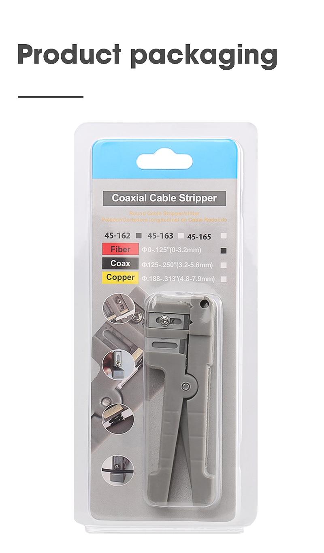 Ideal 45-162 Fiber Optic Stripper /Optical Fiber Jacket Stripper /Cleaver/Slitter enlarge