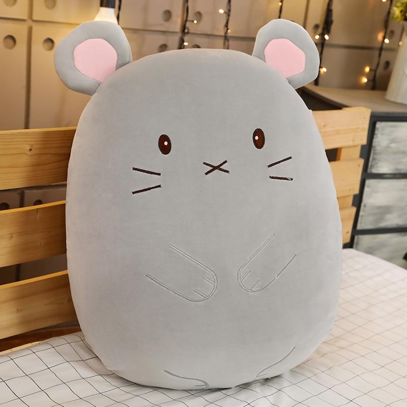 60cm Lovely Stuffed Animal Plush Toy Mouse/Rabbit/Shiba Soft Pillow Cute Pregnancy Sleep Pregnant Home Decor Child Gifft