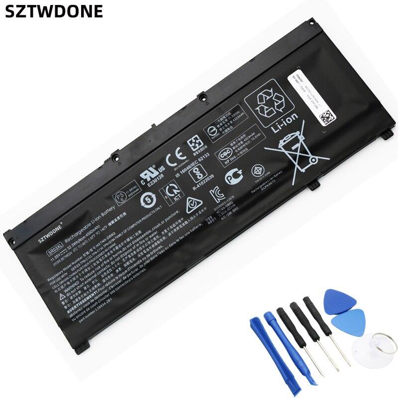 SZTWDone SR03XL Аккумулятор для ноутбука HP OMEN 15-CX 15-DC TPN-Q211 TPN-Q194 Q193 TPN-C133 TPN-C134 HSTNN-DB8Q L08934-2B1 L08855-855