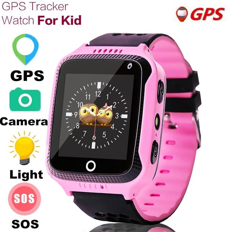 Reloj inteligente Q529 para niños, con cámara Reloj GPS IOS, Android, rastreador inteligente, reloj inteligente para niños