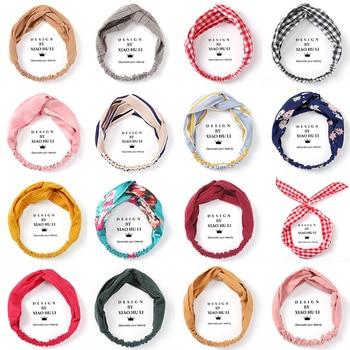Yang Zi Same Style Internet Celebrity Face Wash Female Hair Band South Korea Headwear Color Block Restaurant Headband with Same