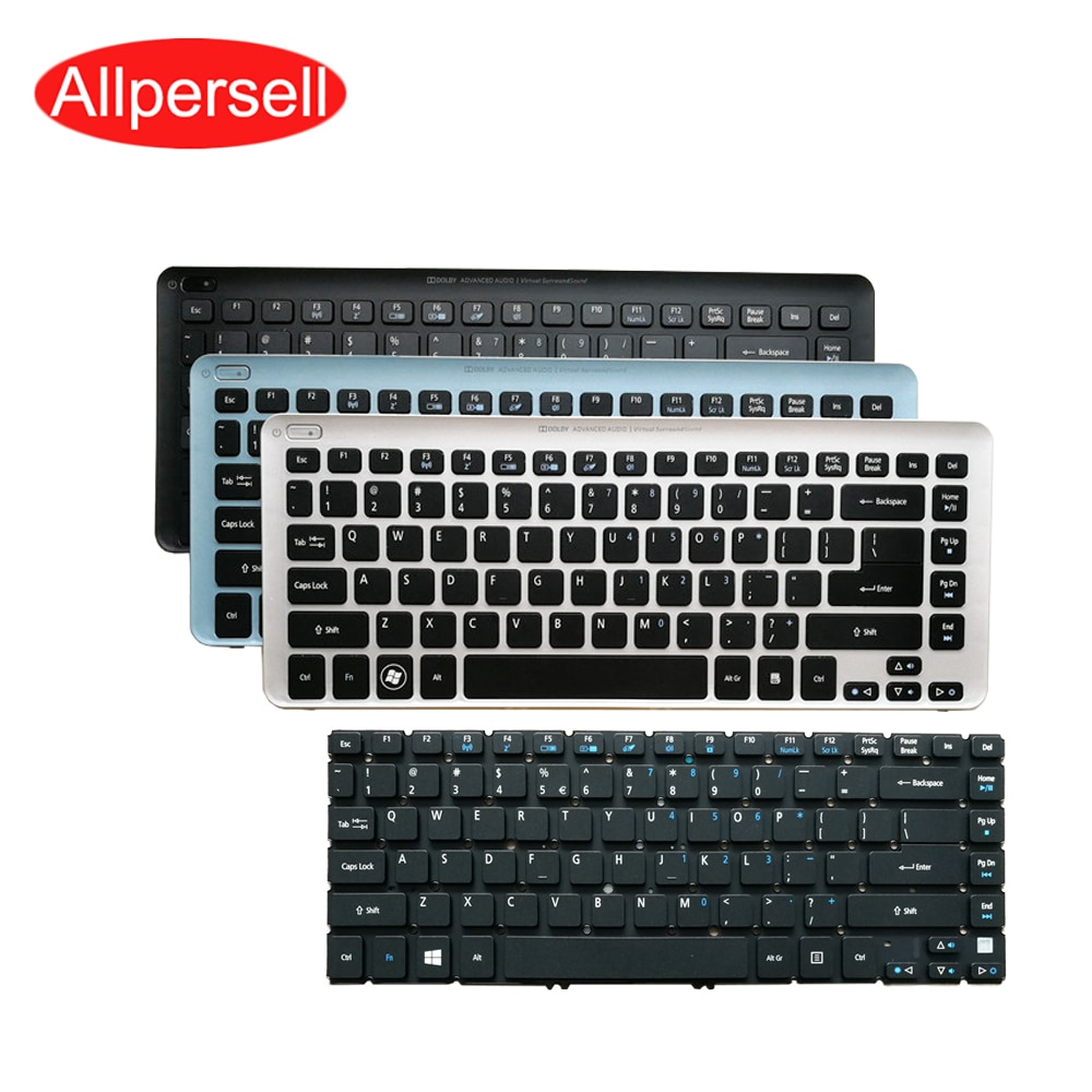 Teclado del ordenador portátil para Acer V5-431G V5-471G V5-431 V5-471 V5-431-471P MS2360 teclado frontera