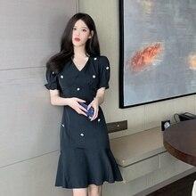 Cost-Effective Boho Black Dot Sexy Party Bodycon Dress Elegant Women Female Summer New Slim Vestido