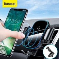 Беспроводное Автомобильное зарядное устройство Baseus, 15 Вт