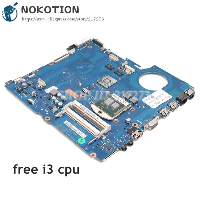 NOKOTION لسامسونج NP-RV711 RV711 اللوحة المحمول غيفورسي 315M DDR3 شحن i3 BA92-08128B BA92-08128A BA41-01574A BA92-08129A