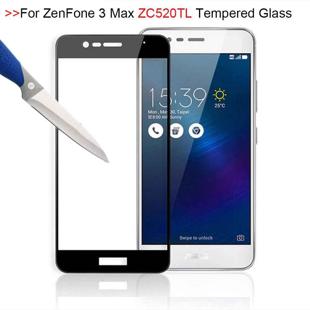 Vidrio Templado 9H para ASUS Zenfone 3 Max, Protector de pantalla de...