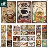 Винтажная металлическая вывеска Putuo декоративная табличка в стиле ретро, украшение для кафе, кухни, гостиной, бара