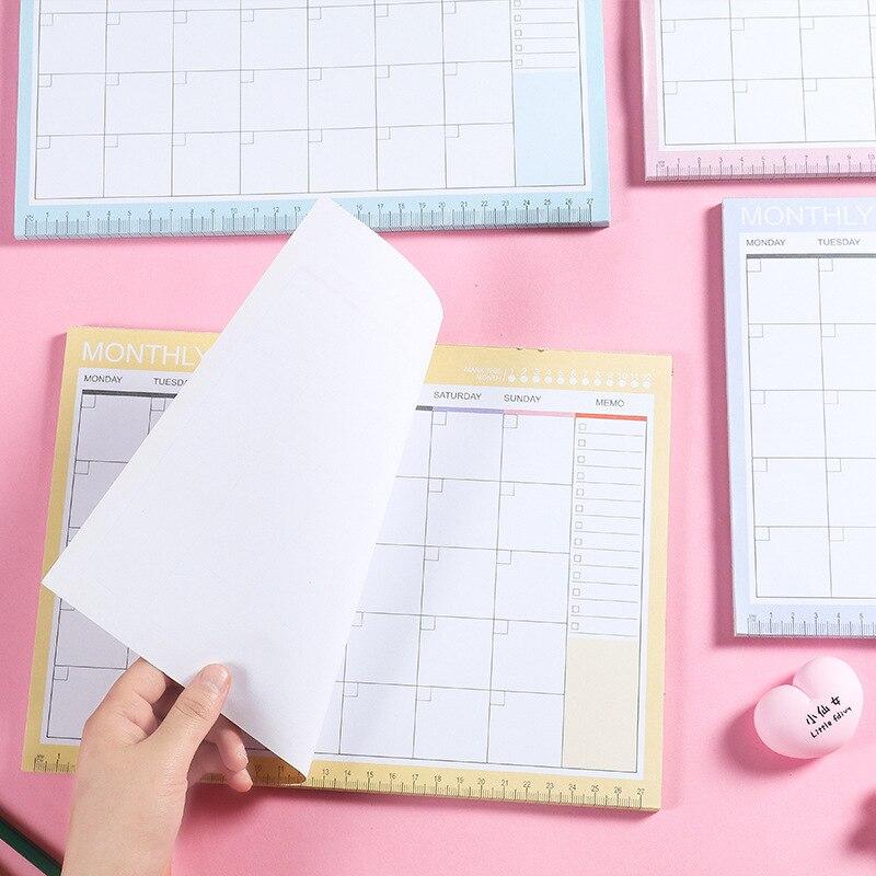2021 офисные принадлежности, рабочий планировщик, блокнот, школьная буклетка, ежедневник, еженедельный, ежемесячный планировщик, управление ...