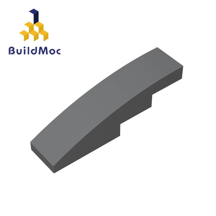BuildMOC Kompatibel Für 11153 Hang Gebogene 4x1 Für Bausteine Teile DIY Pädagogisches Tech Teile Spielzeug