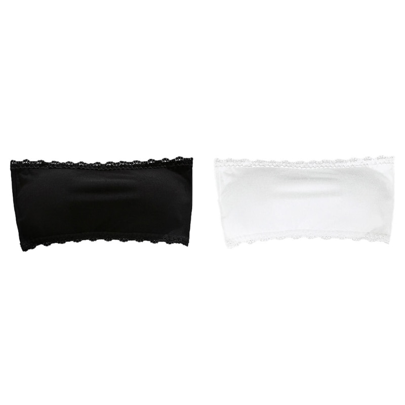 حمالة صدر بدون حمالات مع تقليم من الدانتيل ، عقال ، مبطن ، غير ملحوم ، مرن ، علوي ، X3UE