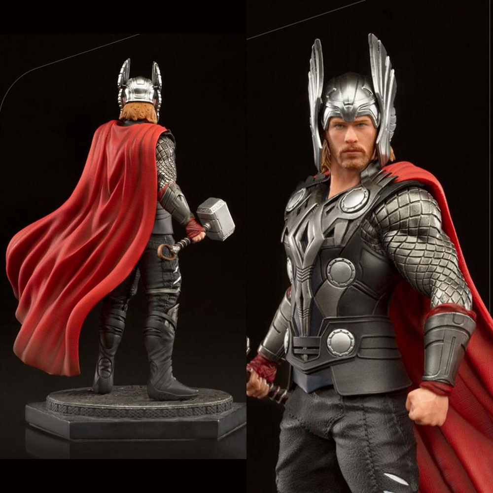 Iron Studios 1/10 Chris Hemsworth Movie Appearance Figure Statue 736532715647 2020 CCXP Ver. Full Set for Fans Holiday Gifts