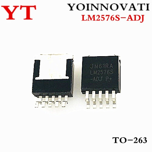 100 шт./лот LM2576S-ADJ LM2576S-ADJ TO-263-5 IC лучшее качество