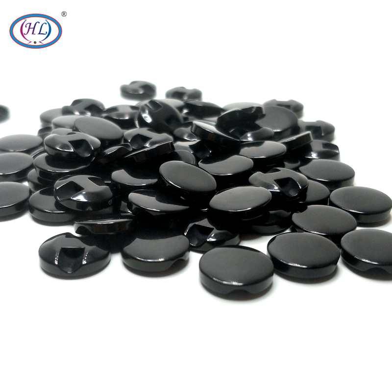HL 50 12 мм черная полимерная пуговица аксессуары для шитья одежды ручной работы