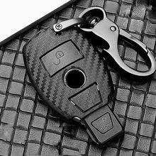 Scrub Abs Autosleutel Beschermen Case Cover Voor Mercedes Benz Bga Amg W203 W210 W211 W124 W202 W204 W205 W212 w176 E Klasse W213 S Klasse