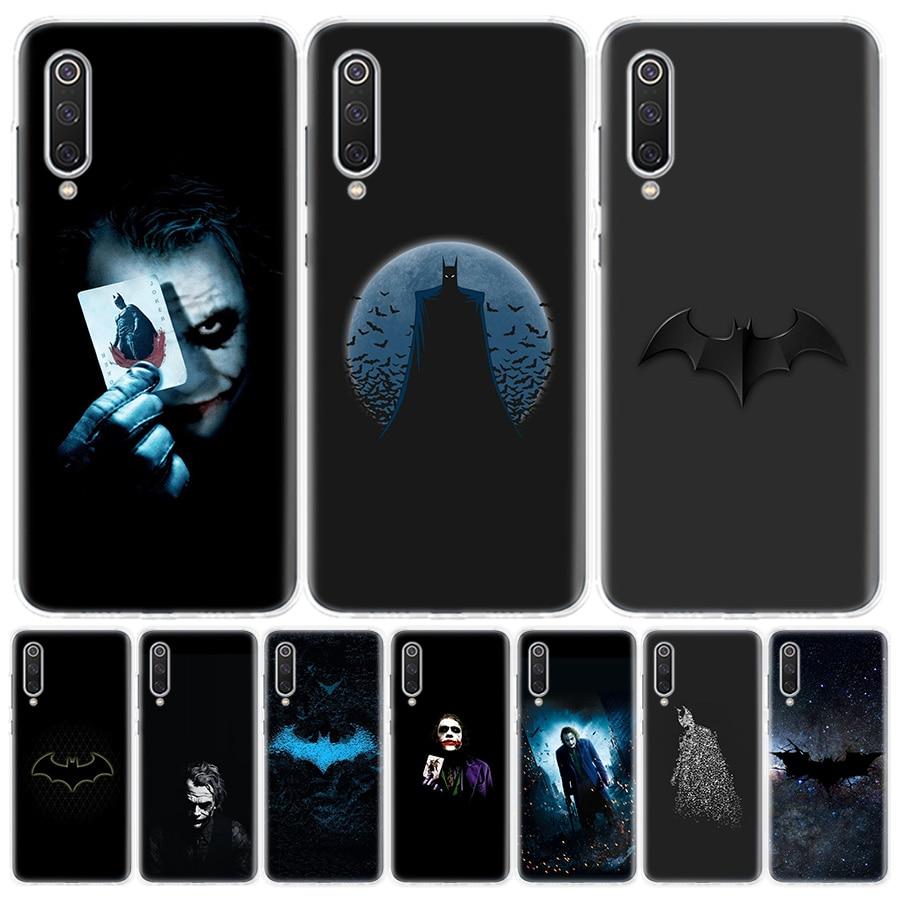 Batman Joker El caballero oscuro funda de teléfono para Xiaomi Redmi 6A 7A 8A Note5 7 8 8T 9S 10 K20 K30 S2 MI8 9 6x CC9 F1 Lite Pro cubierta C