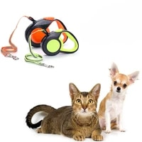 durable reflective pet dog leashes for small medium dogs automatic extending traction rope retractable pet walking leash leads