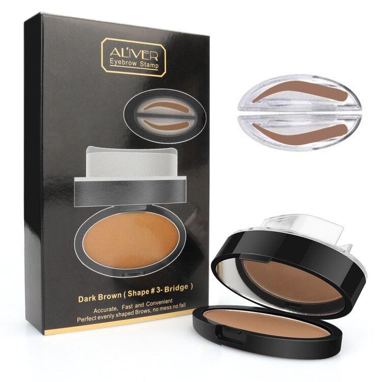 2020 nuevo polvo de cejas sellado duradero Natural impermeable crema de cejas sello potenciadores de cejas ojos cosméticos de belleza TSLM1