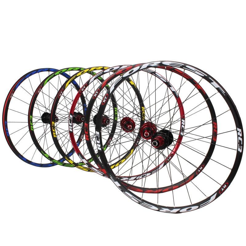 RT RC3 120 Wheel Set Ultra-light 5 Peilin 26-inch Mountain Bike Disc Brake Quick Removal Barrel Shaft