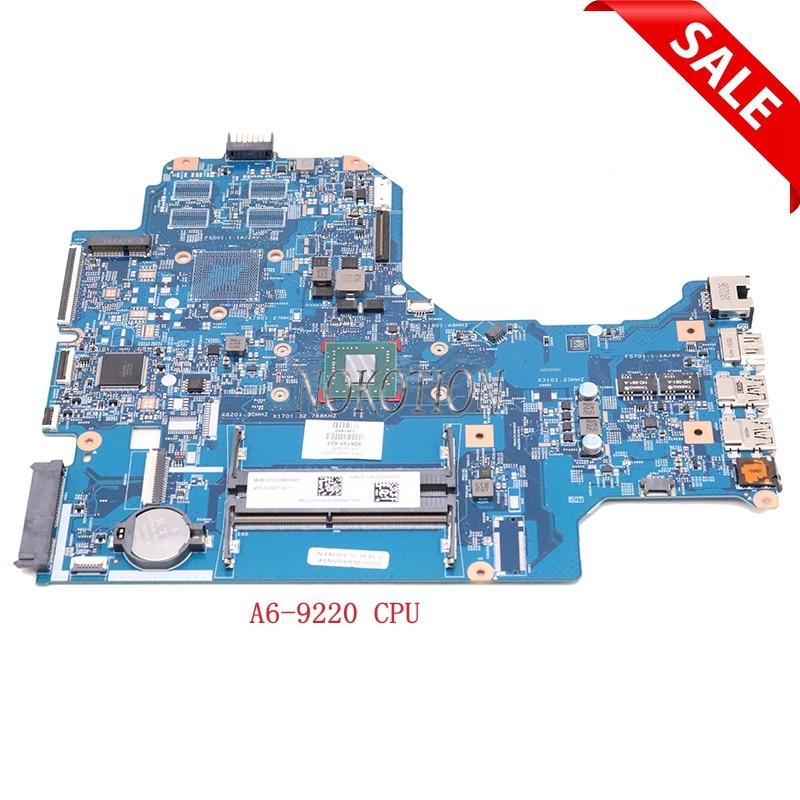 Nokotion 926191-601 926191-001 لإتش بي 17-AK 17Z-AK000 16892-2 448.0CB03.0021 اللوحة المحمول A6-9220 CPU DDR4