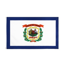 WN 60X90 90X150cm Us Usa State West Virginia Flag For Decoration