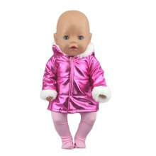 2020 New Down jacket in four colors Suit Fit For 43cm New Born Doll 17inch Reborn Baby Doll Accessor