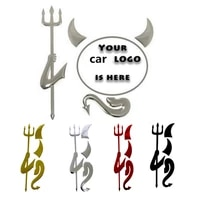 3d car stickers little devil car stickers personalized car stickers