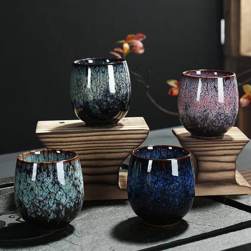 LUWU ceramic teacup porcelain tea cup chinese kung fu cup drinkware 150ml