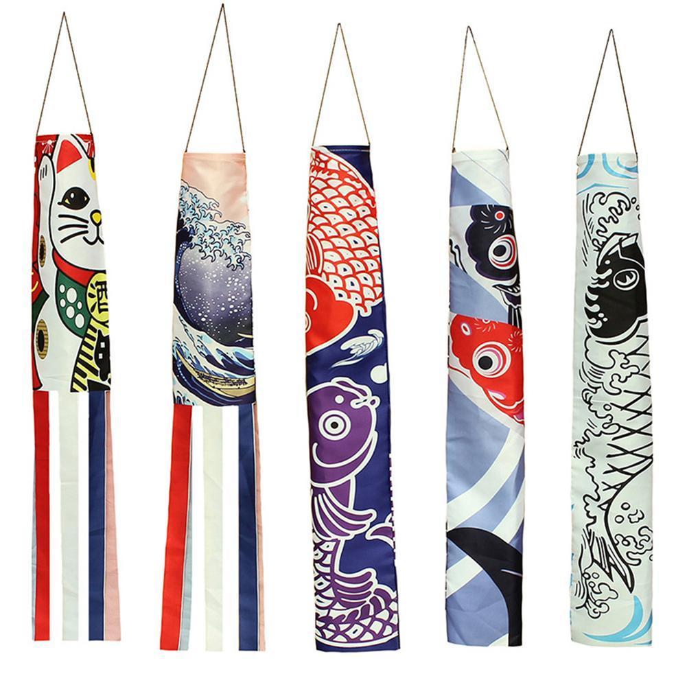 Японские Nobori Koinobori, карп-стример, ветряные носки, искусственный декор для ресторана