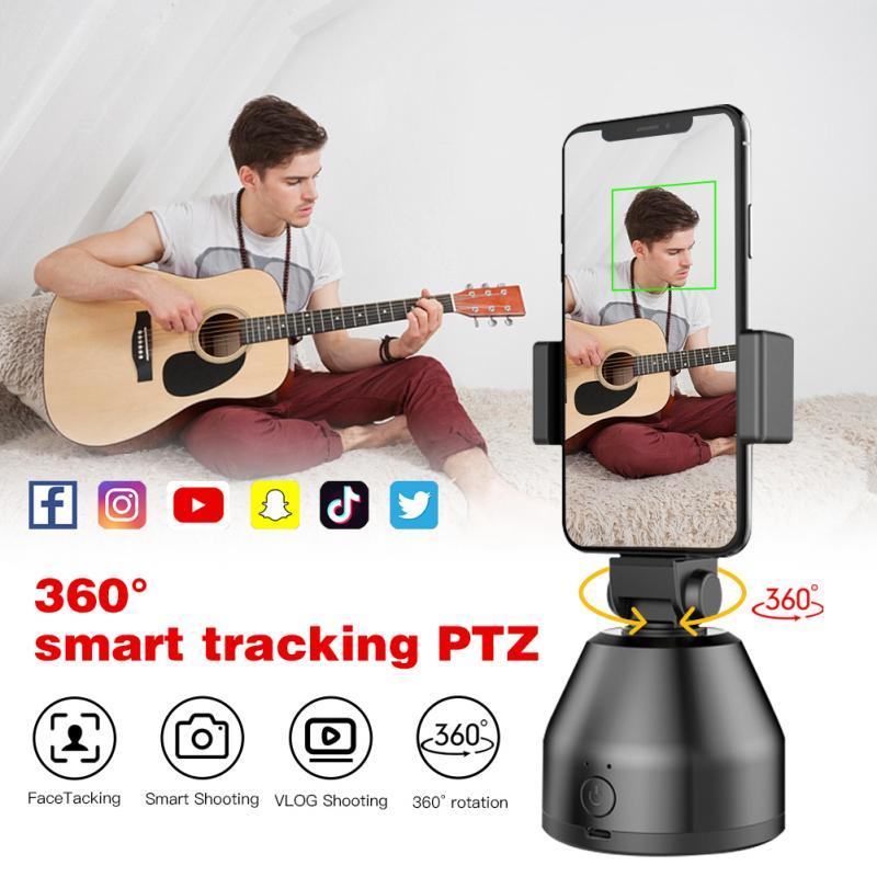 AI 3 in 1 Auto Smart Shooting Selfie Stick Portable 360 Degree Rotation Tripod Portable Vlog Live Tripod Camera Phone Holder