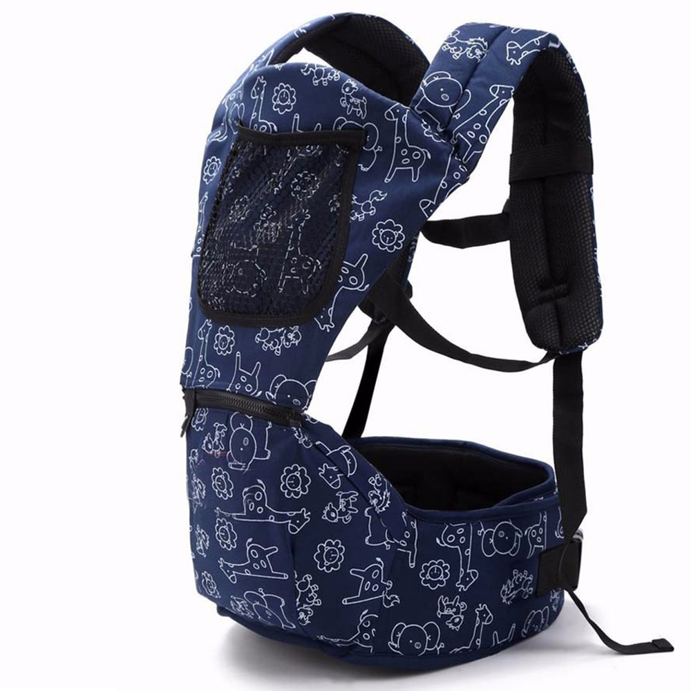 0-36 Months Ergonomic Baby Carrier Infant Kid Baby Hipseat Sling Front Facing Kangaroo Baby Wrap Carrier for Baby Travel hip