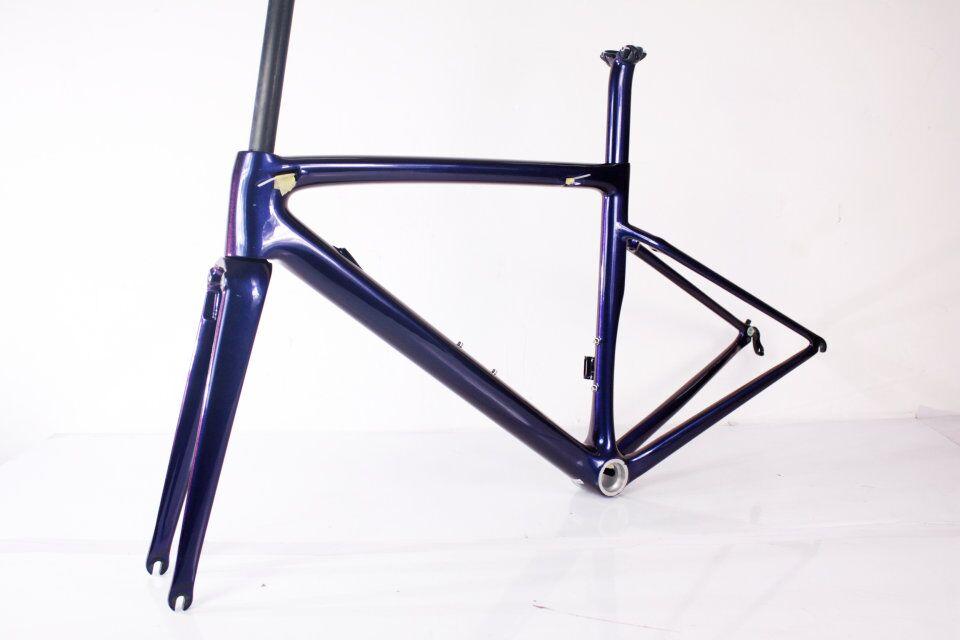 2021 Ceccotti قرص كربون الطريق إطار دراجة هوائية Quadro دي bicicleta دي إسترادا دي fibra دي كربون دراجة الإطار نموذج شعبية