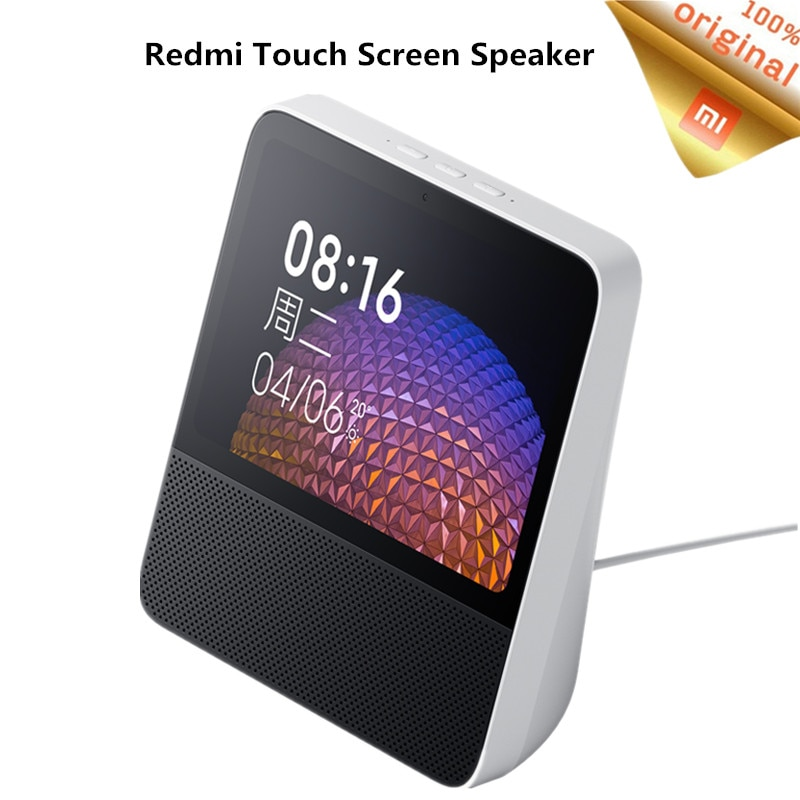 Xiaomi Redmi Xiaoai pantalla táctil Bluetooth 5,0 altavoz 8 pulgadas pantalla Digital Control de gestos WiFi conexión inteligente Mi altavoz
