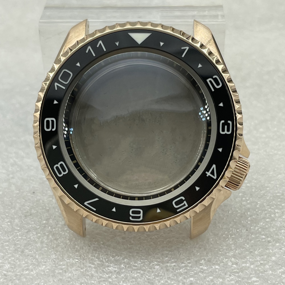 42.3mm For Seiko 4R/ NH35/NH36 Movement Watch Case SKX007/SKX009 Accessory Modified Case Double Sapphire Crystal Watch Case enlarge