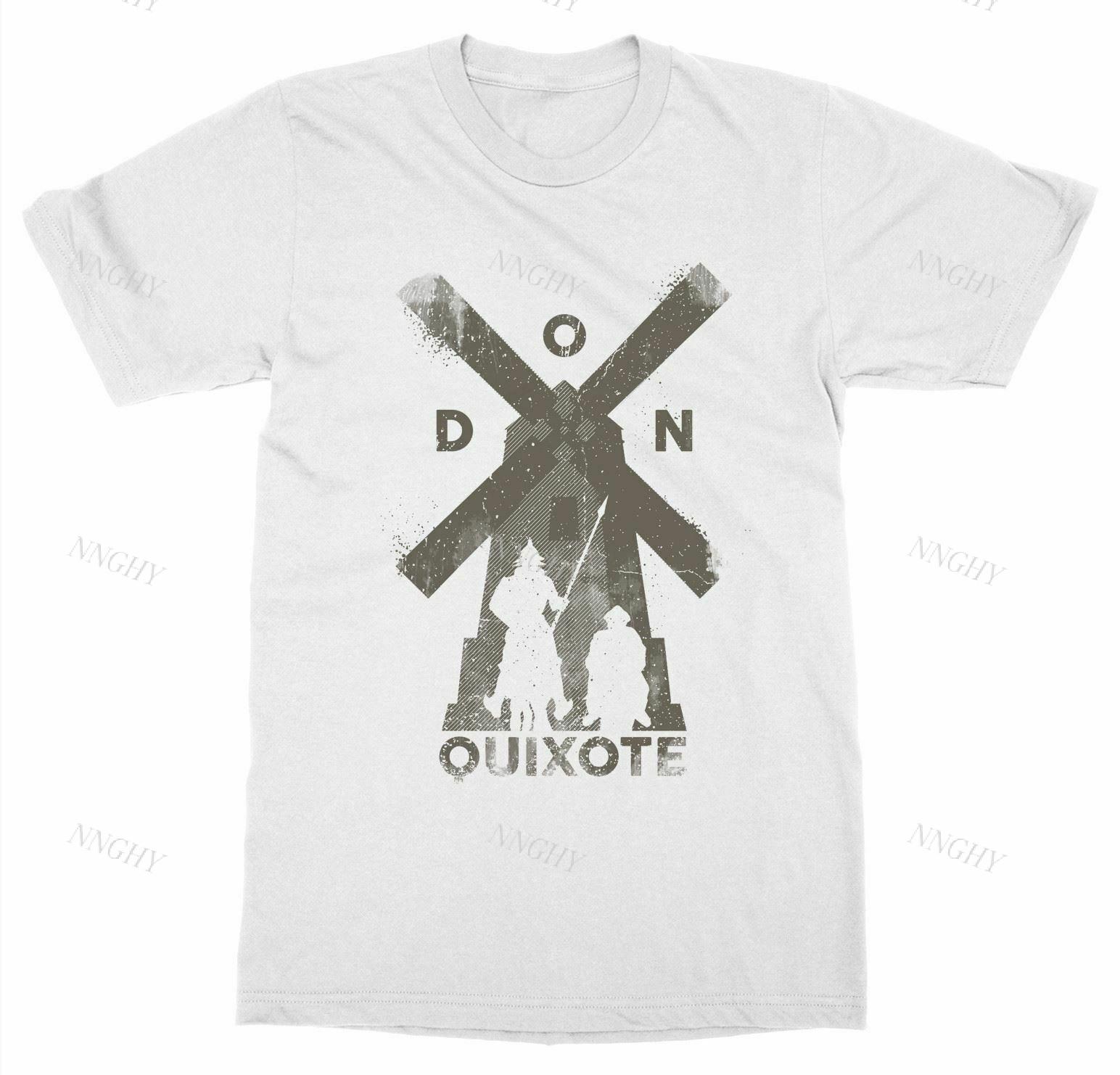 Camiseta De Don Quijote para hombre, prenda De vestir, con estampado De...