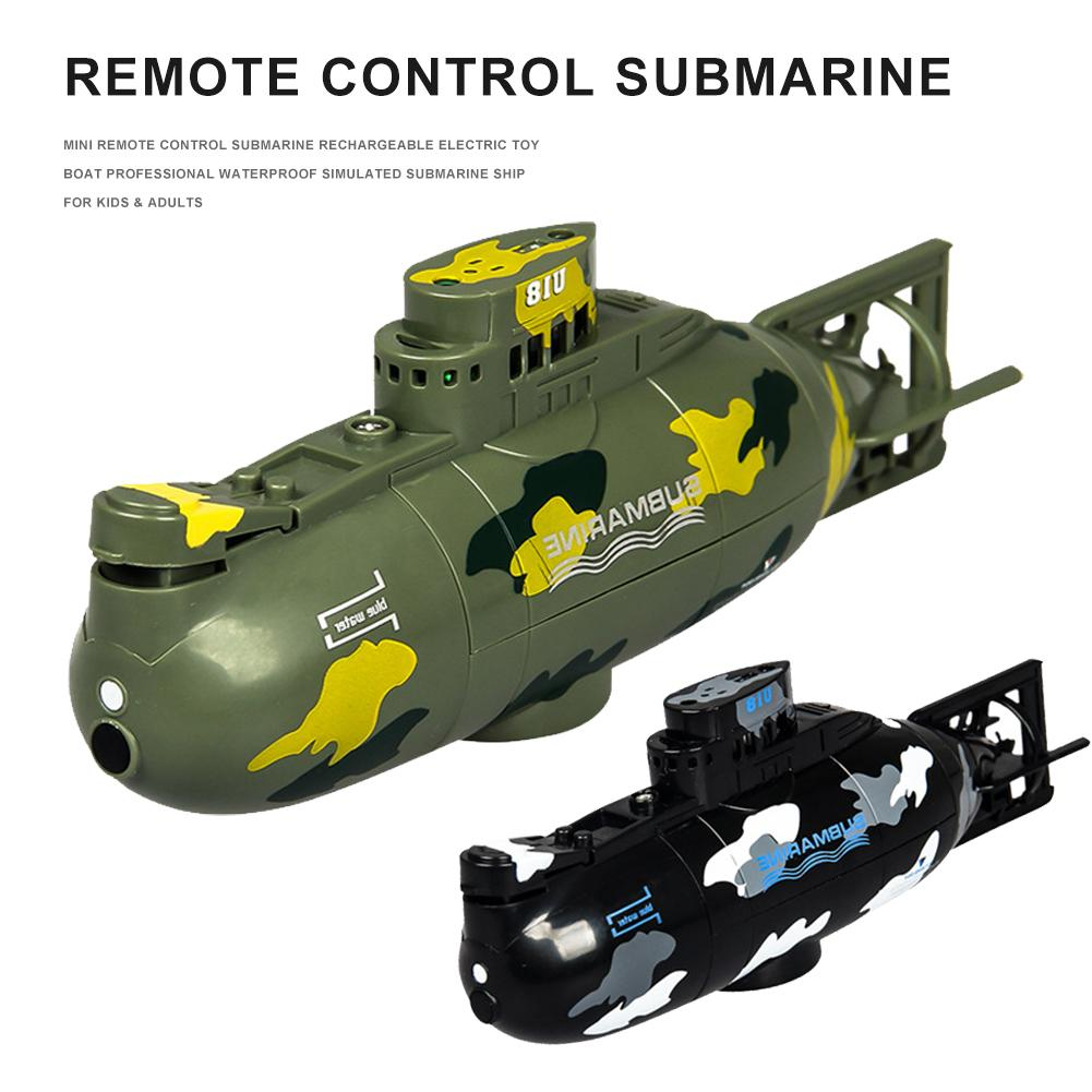 2020 New Mini Remote Control Submarine Electric Toy Boat Professional Waterproof Simulated Ship Toys For Children