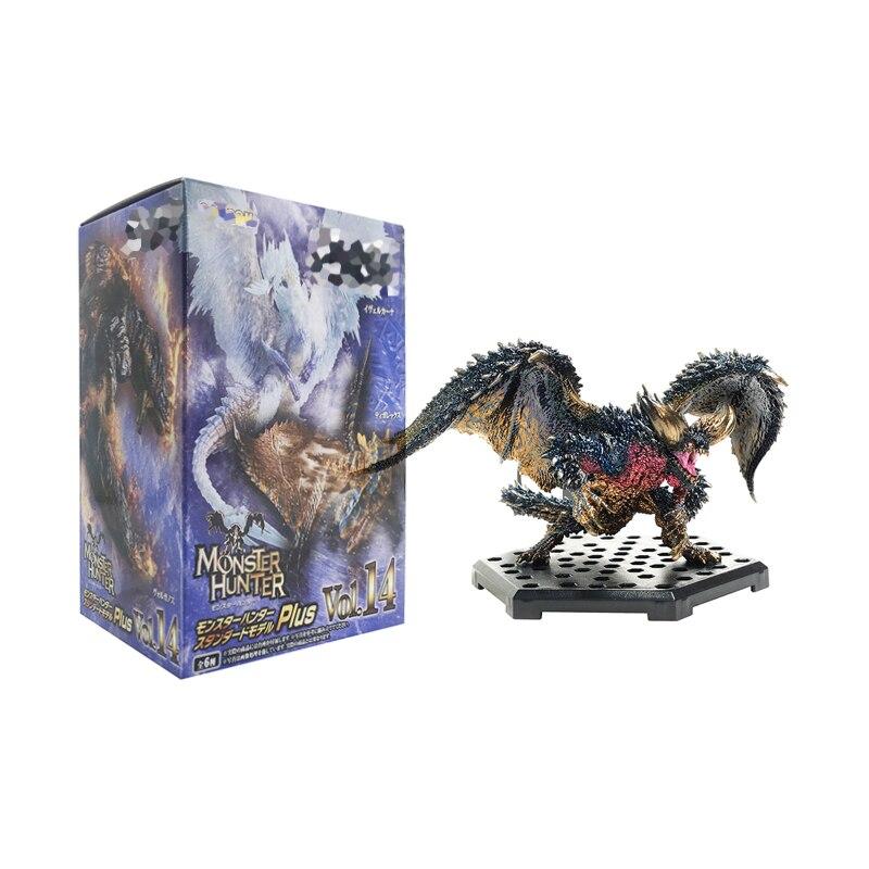 El más nuevo Monster Hunter World Iceborne DLC PLUS Vol.14 figura de acción PVC modelos de dragón decoración colección de juguetes regalo de Navidad