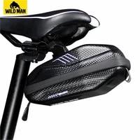 wild man road cycling bicycle bag rear waterproof bike saddle bag mtb panniers sacoche velo reflective accesorios bicicleta