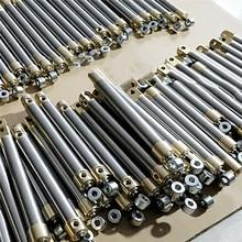 Cylindre dhuile Miniature de cylindre hydraulique voyage de course de 55MM/75MM/90MM pour lindustrie Miniature de Bulldozer dexcavatrice de RC