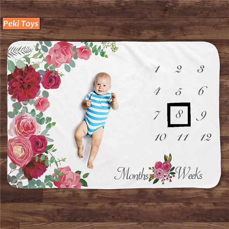 Manta de bebé de franela, Sábana de hito infantil, utilería de fondo para fotografía, Alfombra de juego para bebés, accesorios para bebés recién nacidos, envío gratis