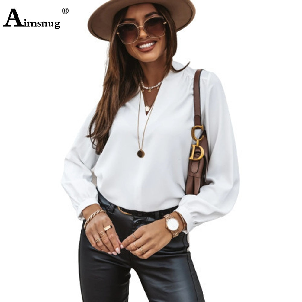Ladies Elegant Leisure Casual Shirt Womens Top Pullovers 2021 Summer Turn-down Collar Blouse Femme shirt blusas ropa mujer