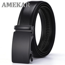 2021 Genuine Leather Belts For Men Automatic Male Belts Cummerbunds Leather Belt Men dropshipping Bl