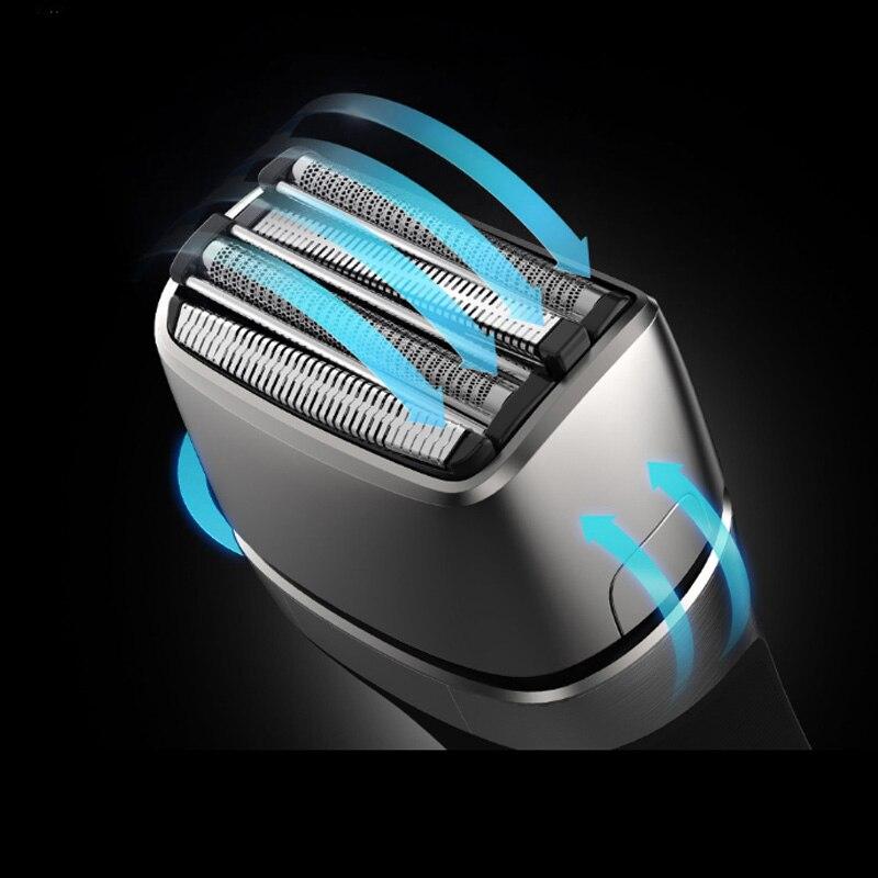 2021 New Mijia Smate Elektrische Razor 4 Blade Elektrische i-Scheerapparaat Snelle Lading Scheerapparaat Droog Nat Waterproof enlarge