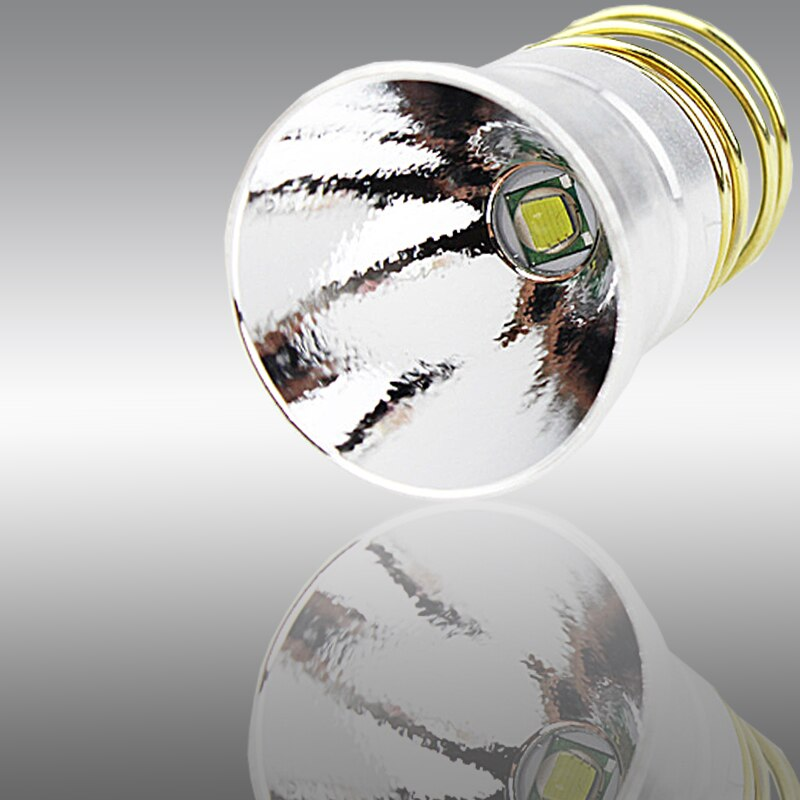 Único modo conduziu o bulbo 3.5v da lanterna elétrica-4.2v um modo de substituição fash lâmpada para 501b 501c 501d 502b 502d tocha