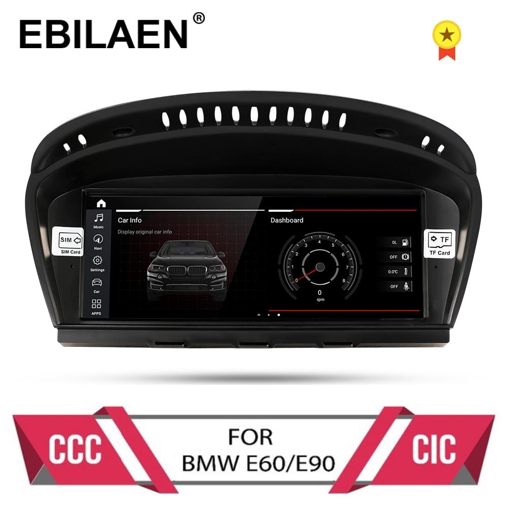 راديو السيارة Android 10.0 ، نظام تحديد المواقع العالمي (gps) ، مشغل dvd ، ملاح ، لسيارات BMW 5 series ، E60 ، E61 ، E62 ، E63 ، 3 series ، E90 ، E91 ، CCC/CIC