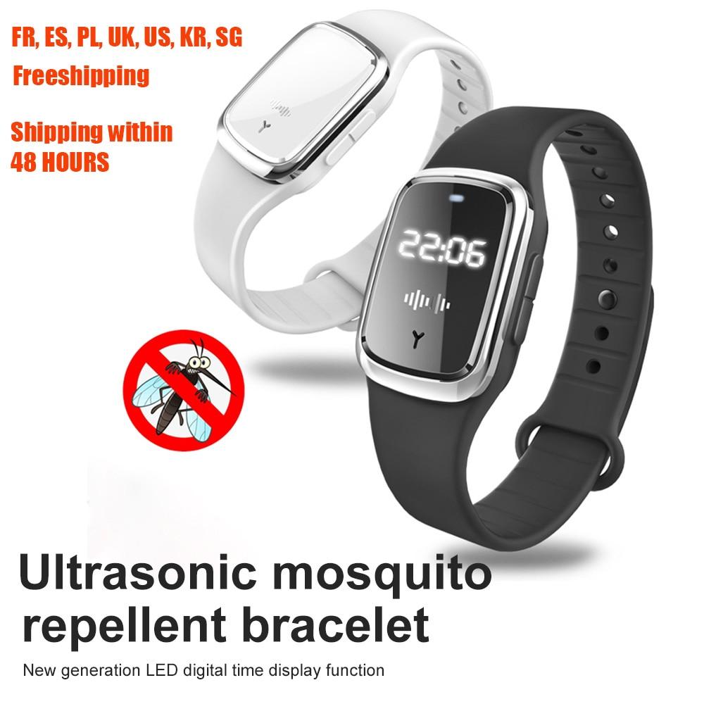 Ултразвукова гривна против комари на - Градински принадлежности