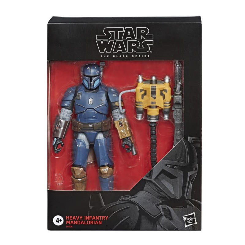Hasbro 6 Inch Star Wars Black Series The Mandalorian Heavy Infantry Action Figures Collectible Toys Gift for Children