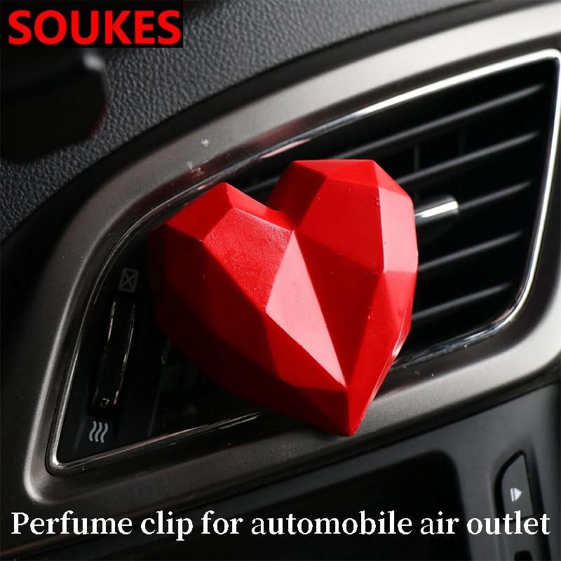 Atmósfera mostrar amor Perfume de coche Clip para Ford ranger Ford Mondeo Kuga Fiat 500 Abarth Nissan Ashqai J11 J10 Juke Jeep Wrangler JK